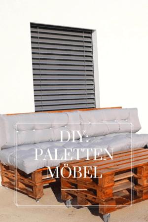 DIY: Palettenmöbel