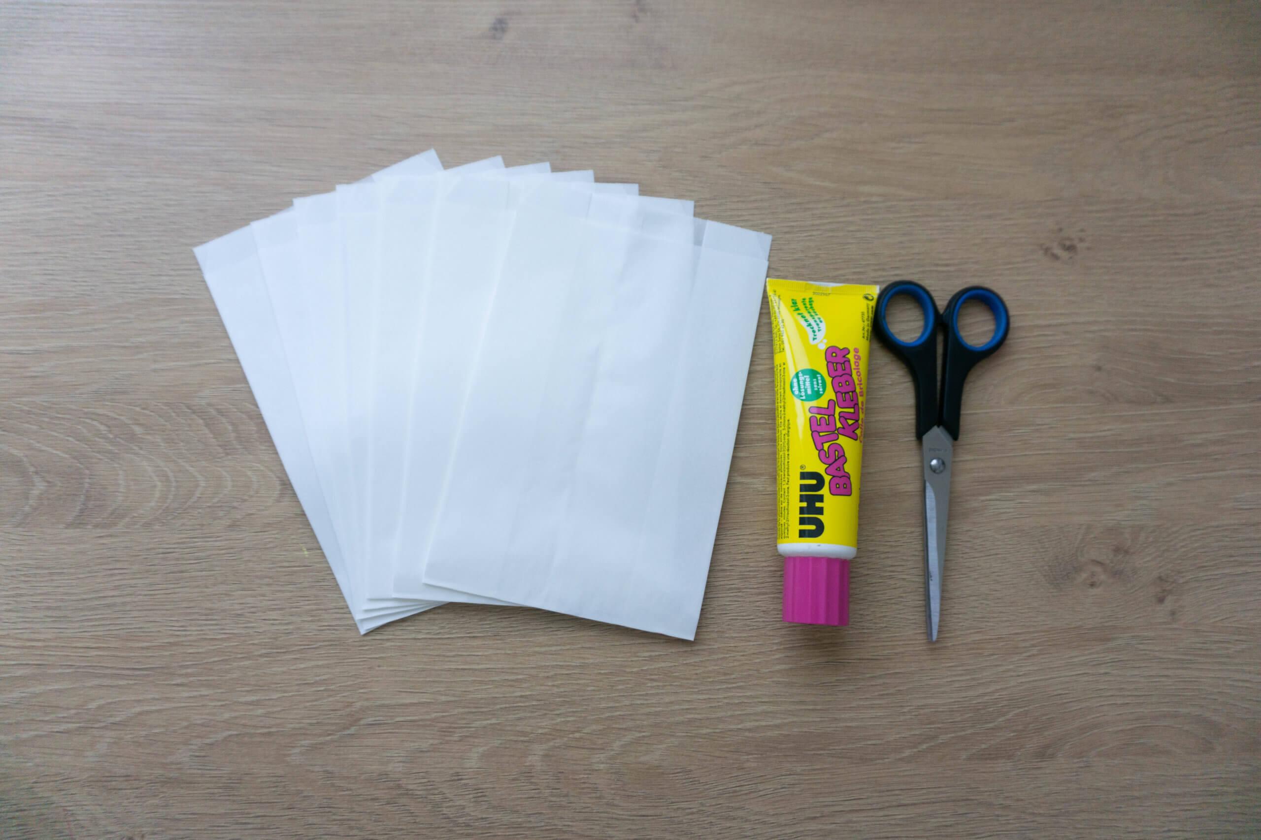 7 Stk. Papiertüten
