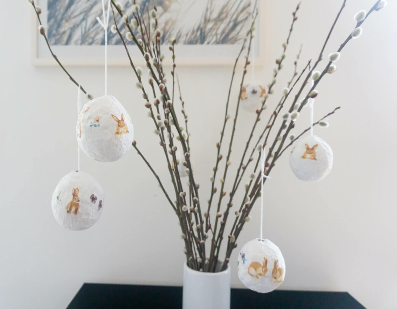 DIY: Osterei aus Klopapier